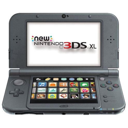 Console New Nintendo 3Ds Xl Samus Edition + Kit de Jogos e Proteção
