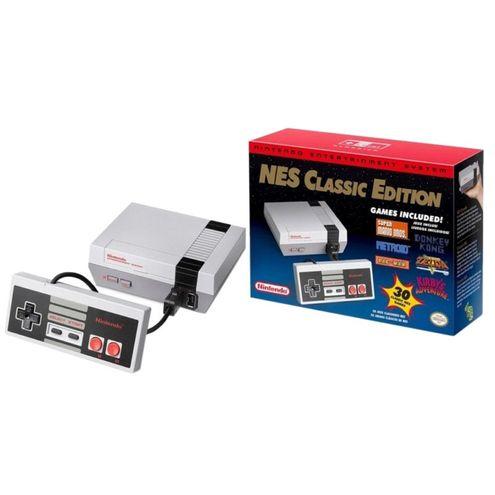 Console Nintendo Entertainment System: Nes Classic Edition + 30 Jogos