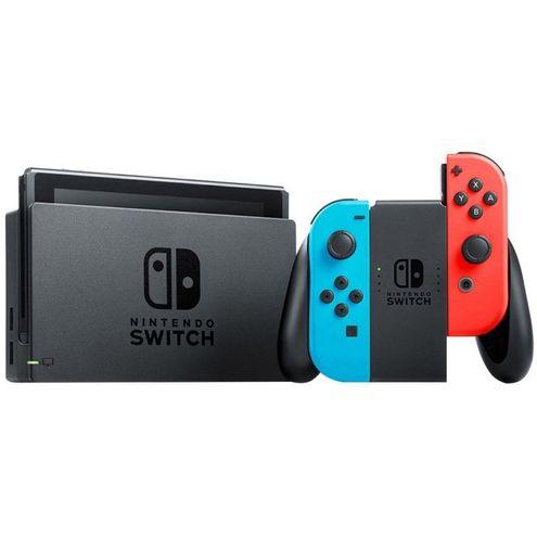 Console Nintendo Switch 32Gb - Azul/vermelho (Japonês)