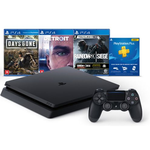 Console Video Game Sony Playstation Hits Bundle V5 1Tb Preto (3004161)