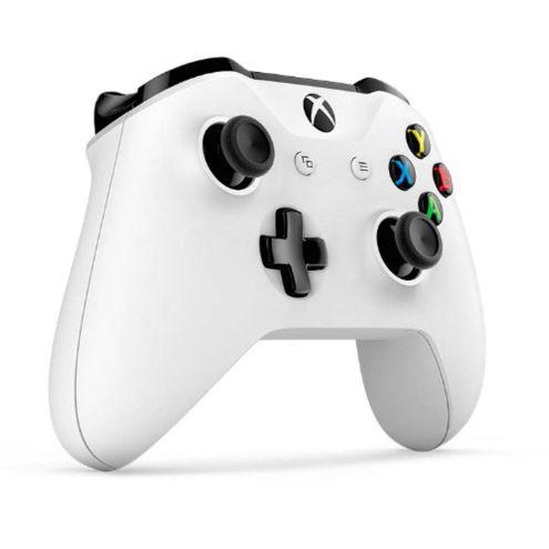Controle Xbox One S Wireless e Bluetooth Branco