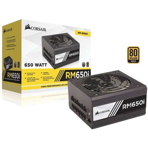 Fonte 80Plus Gold Corsair Cp-9020081-Ww Rmi 650W Digital Pfc Ativo Bivolt Modular