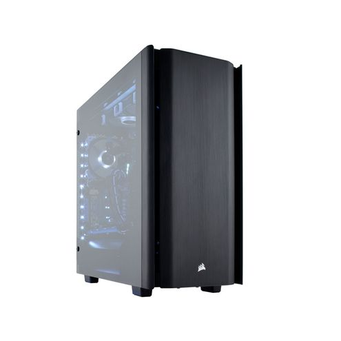 Gabinete Gamer Corsair Cc-9011116-Ww Obsidian Series 500D Premium em Aluminio Preto e Laterais