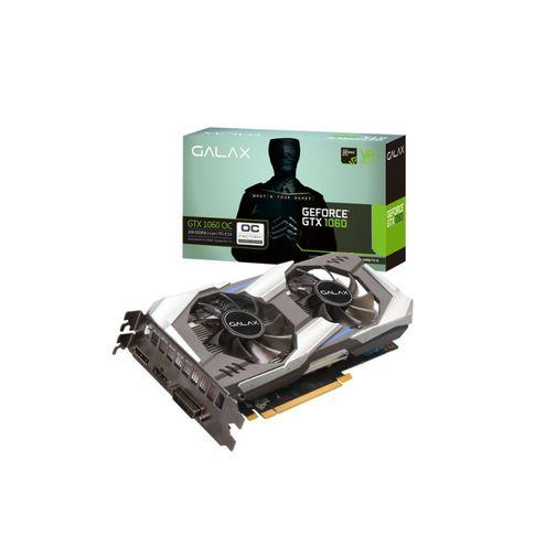 Geforce Galax Gtx Entusiasta Nvidia Gtx 1060 Oc 6Gb Ddr5X 192Bit 8008Mhz Dp Hdmi Dp