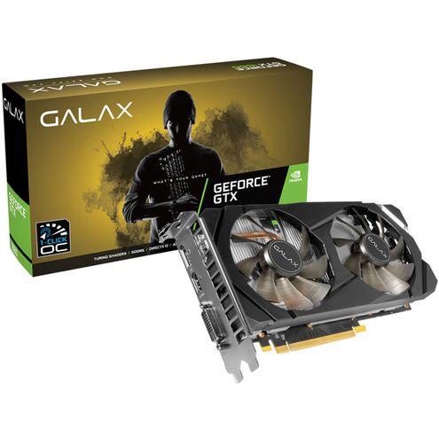 Geforce Galax Gtx Entusiasta Nvidia Gtx 1660 Oc One Click 6Gb Ddr5 192Bit Dp Hdmi Dvi