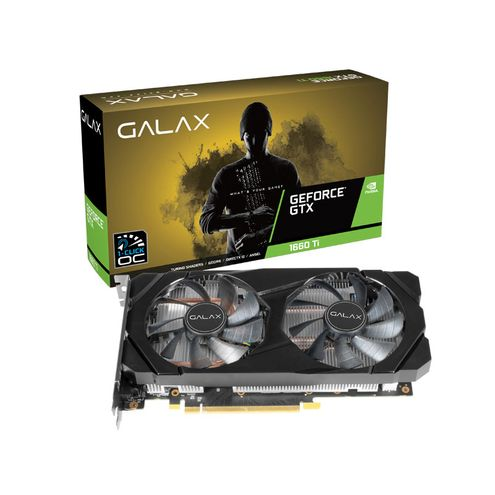 Geforce Galax Gtx Entusiasta Nvidia Gtx 1660Ti Oc 6Gb Ddr6 192Bit Dp Hdmi Dvi
