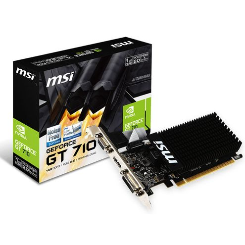 Geforce Gt Mainstrean Nvidia 912-V809-2022 Gt 710 1Gb Ddr3 64Bit 1600Mhz Dvi Hmdi Vga
