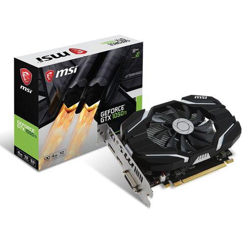 Geforce Msi Gtx Performance Nvidia Gtx 1050Ti Oc 4Gb Ddr5 128Bit 7008Mhz Dvi Hdmi Dp