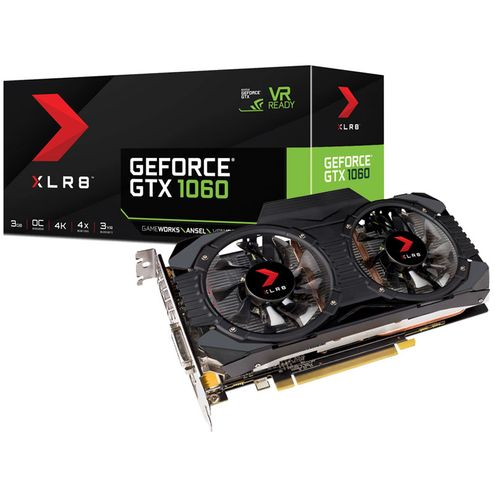 Geforce Pny Gtx Entusiasta Nvidia Gtx 1060 Dual Fan 3Gb Ddr5 192Bit 8008Mhz 1506Mhz 1152 Cuda Cores
