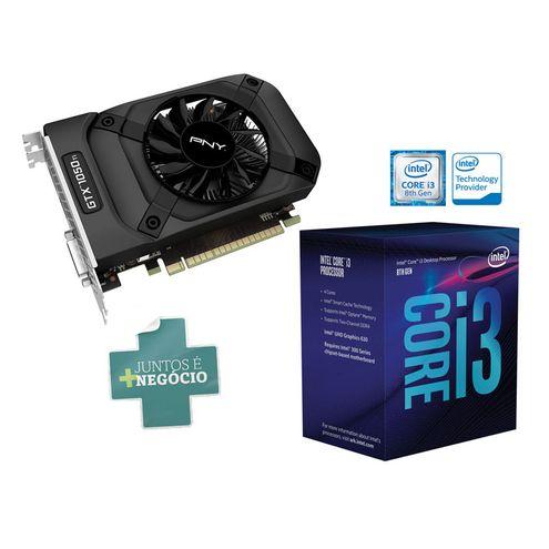 Geforce Pny Gtx Performance Nvidia Compre Junto: Gtx 1050Ti 4Gb Ddr5 128Bit -Pny- + Intel I3 8100