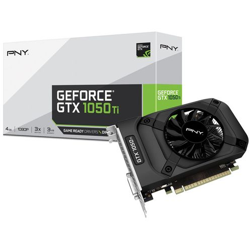 Geforce Pny Gtx Performance Nvidia Gtx 1050Ti 4Gb Ddr5 128Bit 7000Mhz 1290Mhz 768 Cuda Cores Dvi Hdm