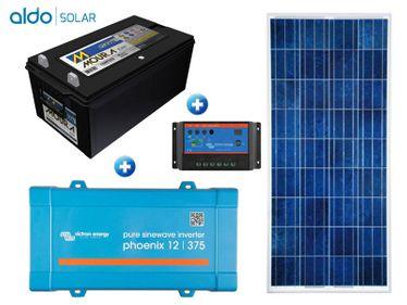 Gerador De Energia Victron Off Grid Aldo Solar Gef-Ogv375120pg 375va Saida 230v Autonomia 33 Horas