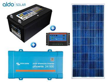 Gerador De Energia Victron Off Grid Aldo Solar Gef-Ogv500120pg 500va Saida 230v Autonomia 32 Horas