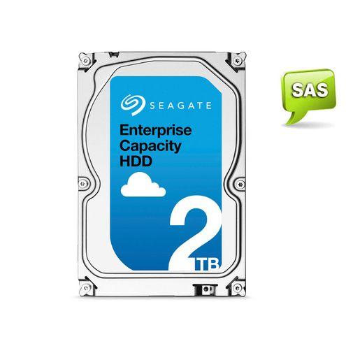 """Hdd 3,5"""" Enterprise Servidor Seagate 2 Tera 7200Rpm 128Mb Cache Sas 12Gb/s"""