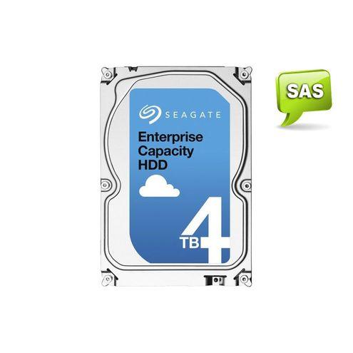 """Hdd 3,5"""" Enterprise Servidor Seagate 4 Tera 7200Rpm 128Mb Cache Sas 12Gb/s"""