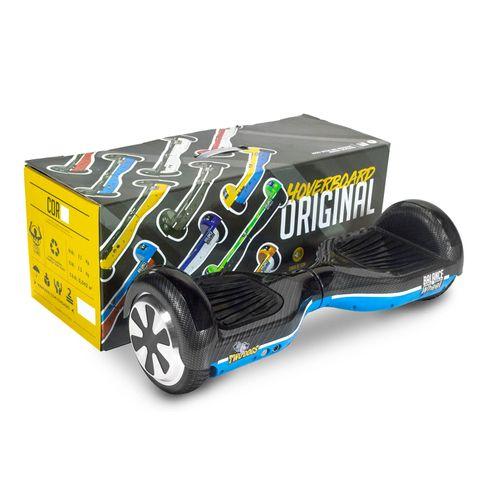 Hoverboard Balance Wheel Azul e Carbono