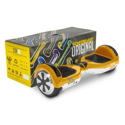 Hoverboard Balance Wheel Dourado e Branco