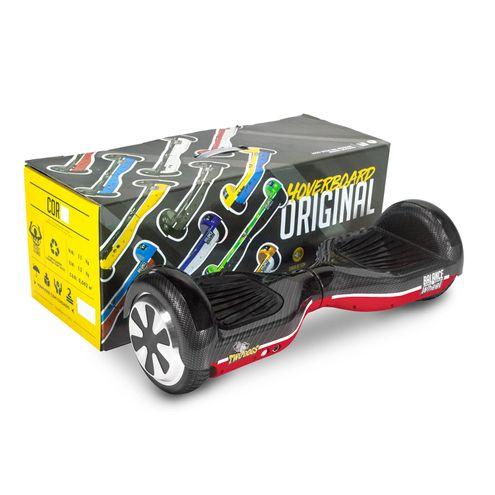 Hoverboard Balance Wheel Vermelho Carbono