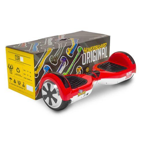 Hoverboard Balance Wheel Vermelho e Branco