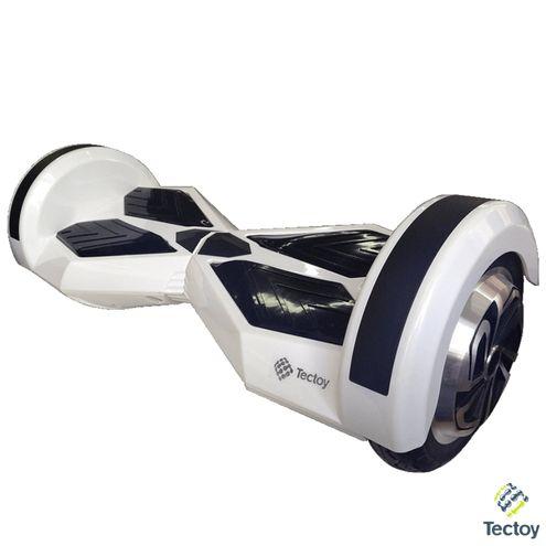 Hoverboard - Skate Elétrico Smart Balance Aro 8´´ 350W - Branco - Tectoy