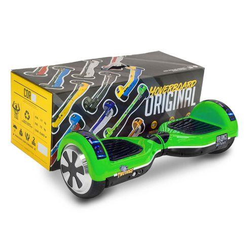 Hoverboard Teen Verde e Preto com Leds