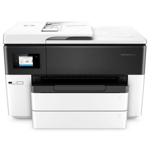 Impressora Multifuncional Jato de Tinta Color Hp Oj 7740 A3 Imp/duplex/copia/dig/wifi/rede/fax 34Pp
