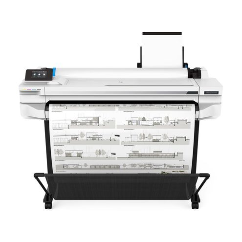 Impressora Plotter Grande Formato Hp 5Zy62A#b1K Designjet T530 de 91Cm (36 Pol)