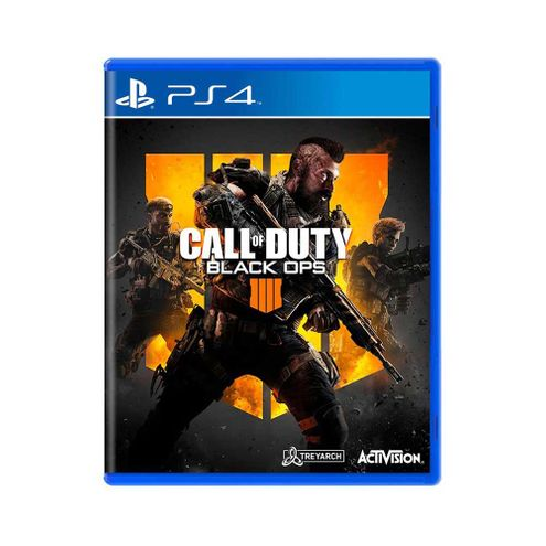 Jogo Activision Call Of Duty: Black Ops 4 Ps4 Blu-Ray (P4Da00730601Fgm)