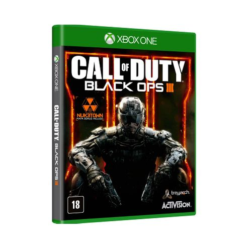 Jogo Activision Call Of Duty Black Ops Lll Nuk3Town Map Xbox One Blu-Ray