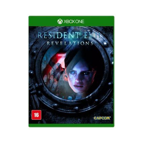 Jogo Capcom Resident Evil Revelations Remasterizado Xbox One Blu-Ray (Cp2432On)