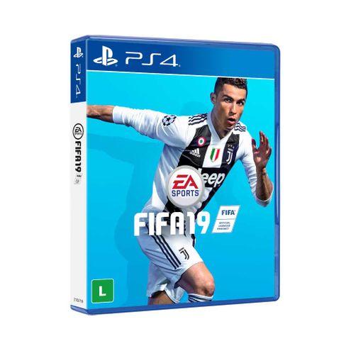 Jogo Electronic Arts Fifa 19 Ps4 Blu-Ray (Ea3044An)