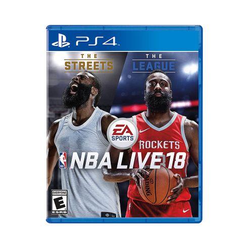 Jogo Electronic Arts Nba Live 2018 Ps4 Blu-Ray (Ea3038An)
