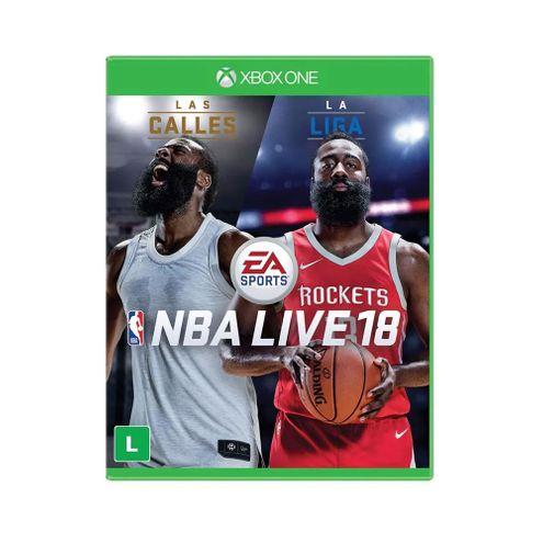 Jogo Electronic Arts Nba Live 2018 Xbox One Blu-Ray (Ea3038On)