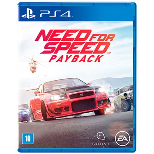 Jogo Electronic Arts Need For Speed Payback Ps4 Blu-Ray (Ea3032An)