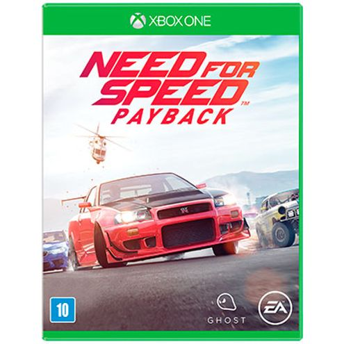 Jogo Electronic Arts Need For Speed Payback Xbox One Blu-Ray (Ea3032On)