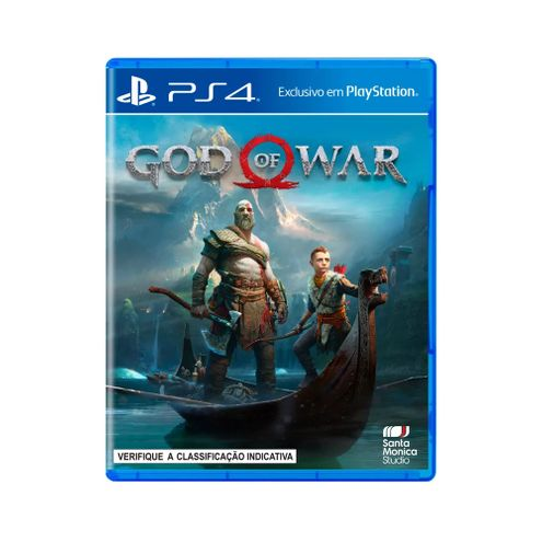 Jogo Sony God Of War 4 Ps4 Blu-Ray (P4Da00727601Fgm)