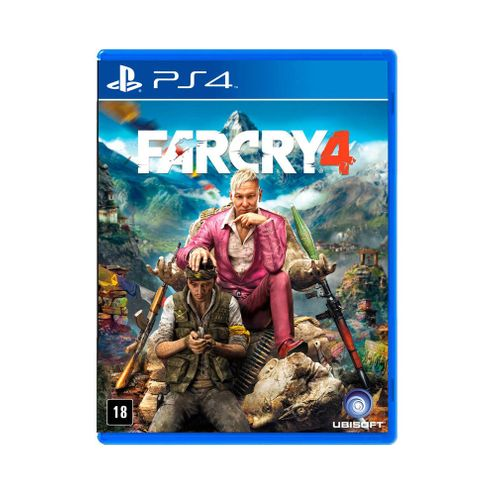 Jogo Ubisoft Far Cry 4 Ps4 Blu-Ray (Ub2013An)
