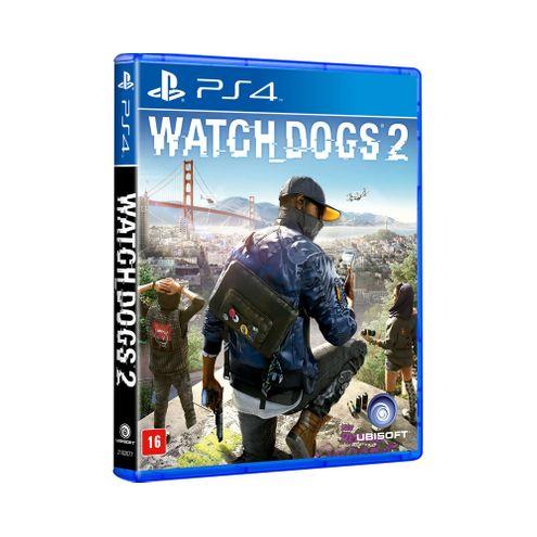 Jogo Ubisoft Watch Dogs 2 Ps4 Blu-Ray (Ub000015Ps4)