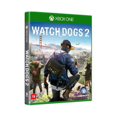 Jogo Ubisoft Watch Dogs 2 Xbox One Blu-Ray (Ub000016Xb1)