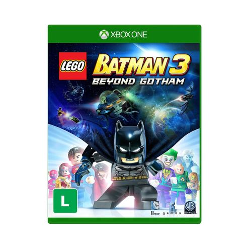 Jogo Warner Lego Batman 3 Xbox One Blu-Ray (Wgy0214On)