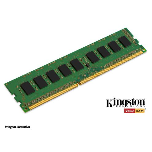 Memoria Desktop Ddr3 Proprietária Kingston 8Gb Ddr3 1600Mhz Dimm 1.5V