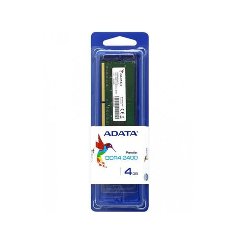 Memoria Notebook Ddr4 Adata 4Gb 2400Mhz Cl17 So-Dimm 260-Pin 1.2V