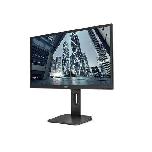 """Monitor Corporativo Aoc 18,5"""" 1366 X 768 Hd Widescreen Vga Hdmi Dp com Ajuste de Altura"""