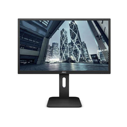 """Monitor Corporativo Aoc 21,5"""" Led 1920X1080 Wide Vga Hdmi Vesa com Ajuste de Altura"""