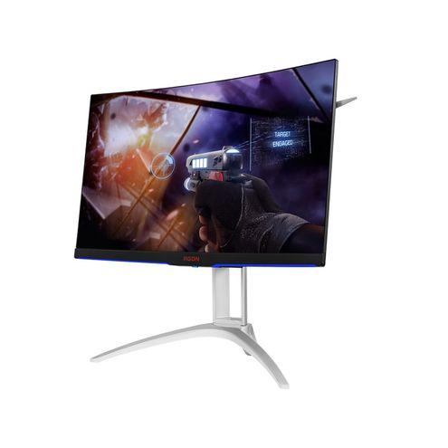Monitor Gamer Entusiasta Aoc Ag272Fcx 27 Led Wide Full Hd 1920 X 1080 144Hz Freesync Vga Hdmi Dp