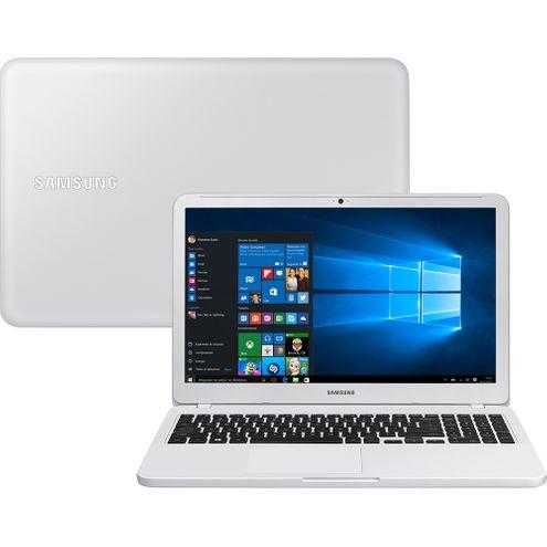 Notebook Samsung Essentials E30 Intel Core I3 4Gb 1Tb Led Full Hd 15.6'' Win 10 - Branco Ônix