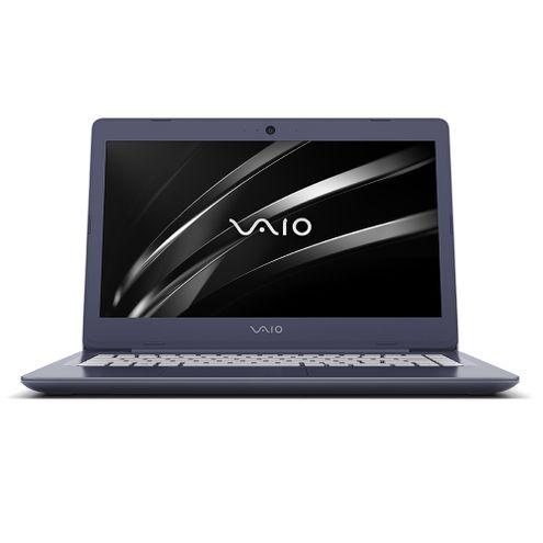 """Notebook Vaio C14 Vjc142F11X-B1411L Intel Core I3 7100U 4Gb Ram Tela Lcd 14"""" Hd 1Tb Shell Efi"""