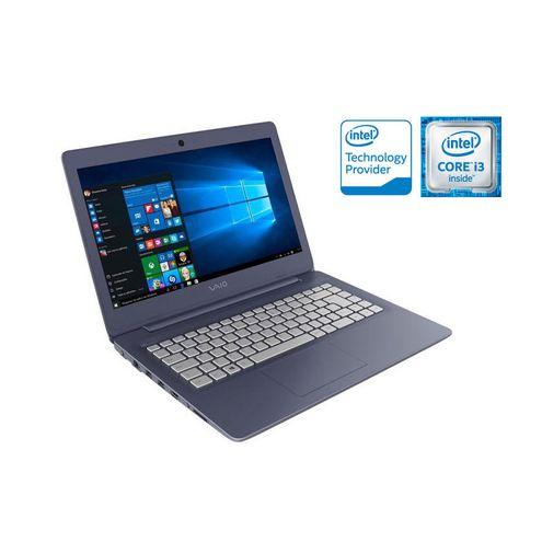 Notebook Vaio Vjc141F11X-B0111L C14 I3-6006U 1Tb 4Gb 14 Led Windows 10 Home - Azul/prata