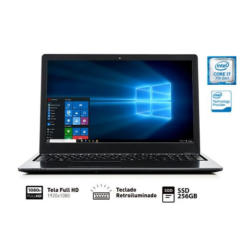 Notebook Vaio Vjf155F11X-B1011B Fit 15S I7-7500U 8Gb Ssd 256Gb 15.6 Fullhd Tec. Retroiluminado Win10