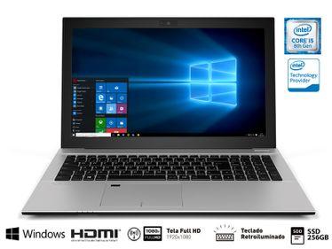 Notebook Vaio Vjf157f11x-B0211s Fit 15s I5-8250u 8gb 256gb Ssd 15.6 Fullhd Teclado Retroiluminado Win10 Home
